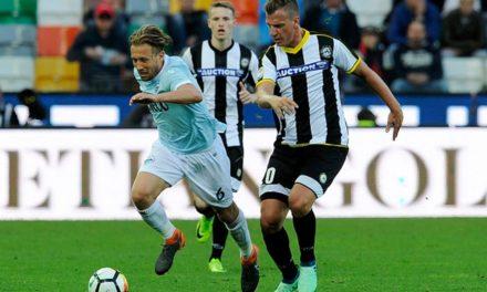 Udinese joga com onze camisas diferentes, ontem, contra a Lazio