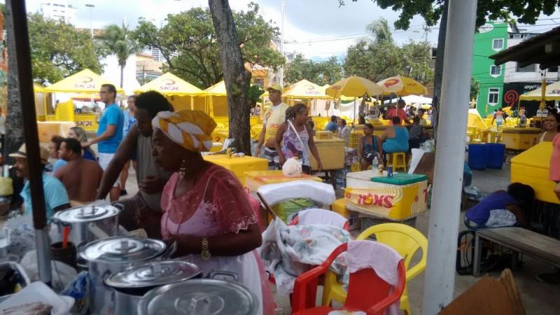 Semop credencia amanhã (25) os ambulantes que desejam trabalhar no show de Ivete Sangalo