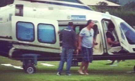 MP acusa Cabral por farra dos helicópteros