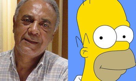 Morreu Waldyr Sant´Anna, primeiro dublador de Homer Simpson