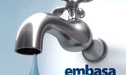 Embasa suspende temporariamente fornecimento de água no Centro de Salvador