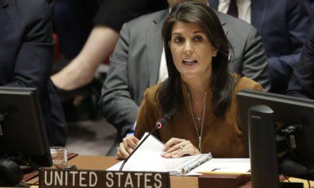 Embaixadora americana diz que EUA continuam na Síria até certeza de não uso de armas químicas