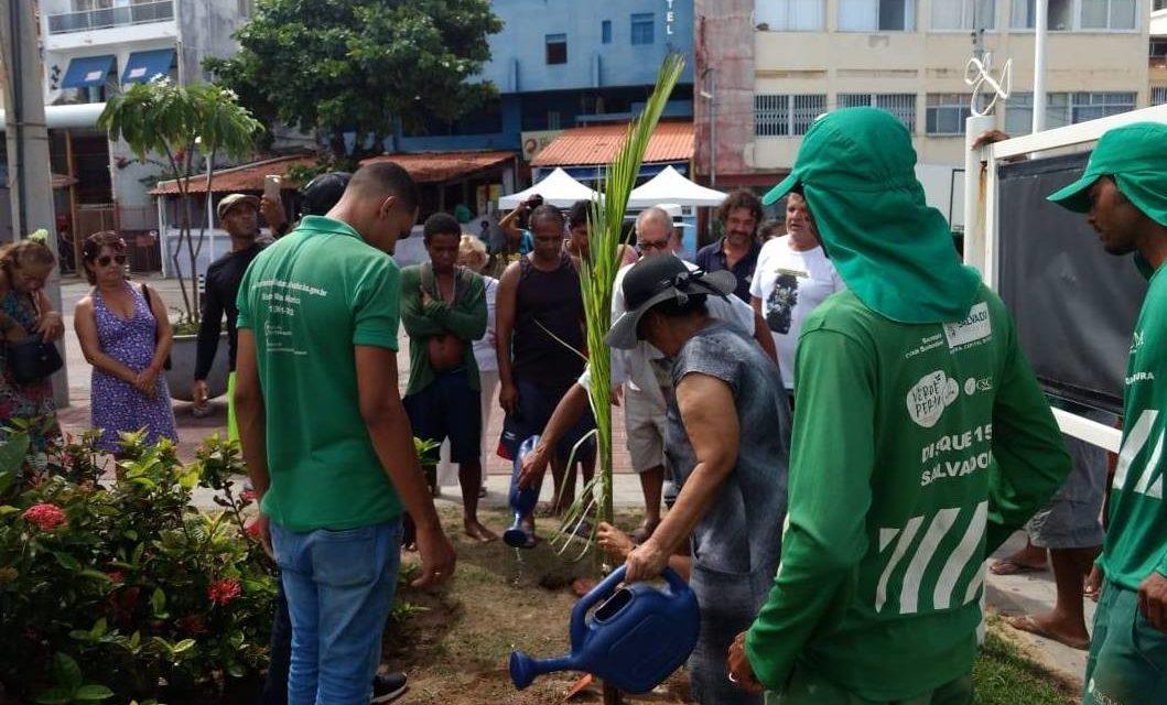 Verde Perto já incentivou a adoção de 63 praças e áreas verdes em cinco anos