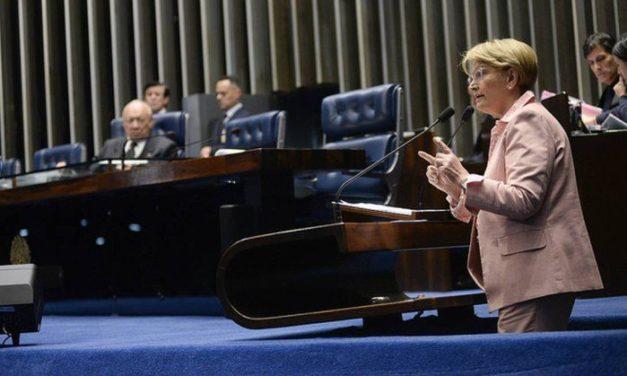 Senadora critica vídeo do PT à TV árabe e provoca discussão no Senado