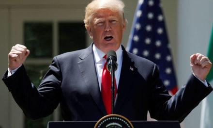 Trump dá ao Brasil mais um mês sem a sobretaxa do aço e anuncia acordo de cota