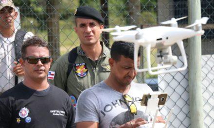 Expertise da PM com drones leva oficiais do Graer para evento em SP