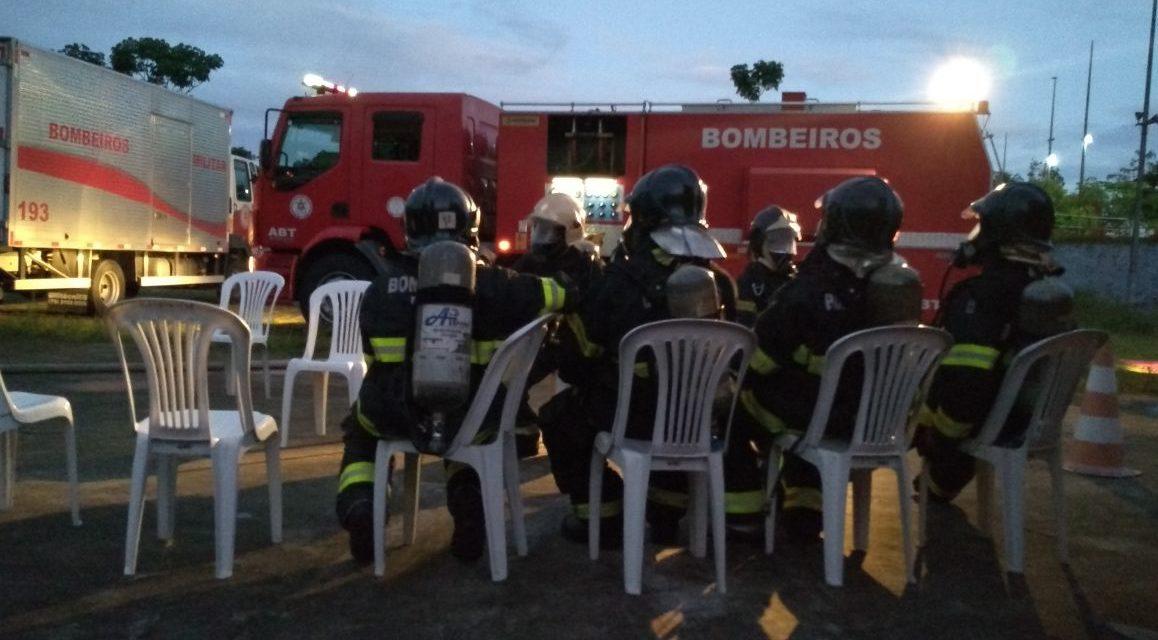 Corpo de Bombeiros realiza mais um Curso de Operações em Incêndio