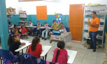 Em Itapetinga, oficina pedagógica do Detran alcança 130 estudantes