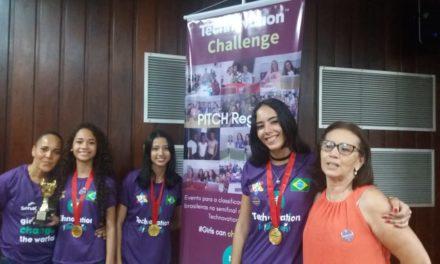 Estudantes de Itabuna criam aplicativo e conquistam a etapa regional do Technovation Challenge Brazil