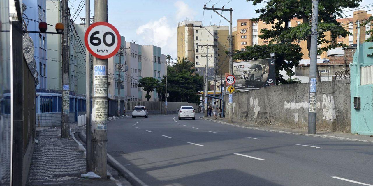 Transalvador altera velocidade de via no Rio Vermelho
