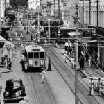Avenida Sete de Setembro no Túnel do Tempo do Farol News