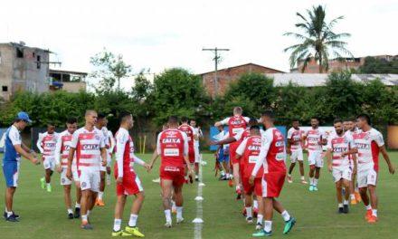 Bahia inicia preparativos para o jogo contra o Palmeiras, em SP
