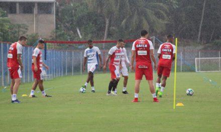 Bahia treina na manhã deste sábado visando jogo contra o Vasco