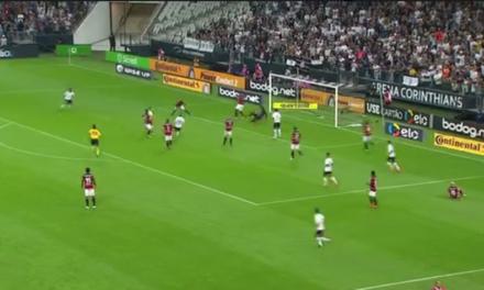 Corinthians vence por 3×1 e Vitória se despede da Copa do Brasil