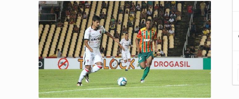Sampaio volta a jogar bem e vence Vitória pelas quartas de final da Copa do Nordeste