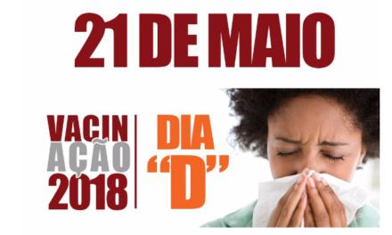 CAAB realiza Dia D de vacinação contra a gripe nesta segunda, 21