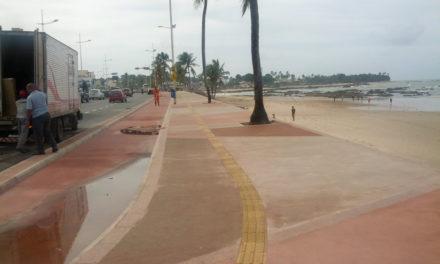 Prefeitura bate a marca de 170 quilômetros de piso tátil para pessoas com deficiência