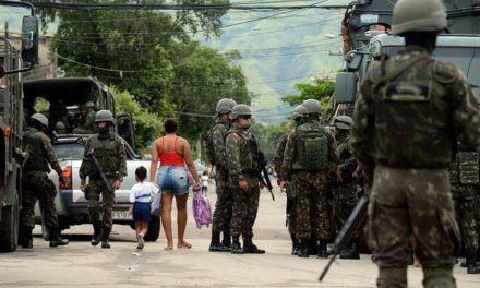Operação das Forças Armadas e polícia no Rio não tem prazo para acabar