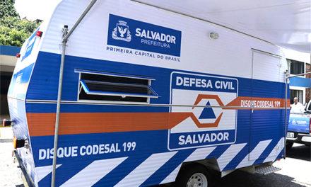Informações da Defesa Civil de Salvador (Codesal)