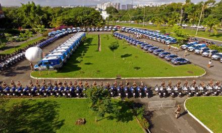 Entrega de 461 novas viaturas reforça frota da Polícia Militar
