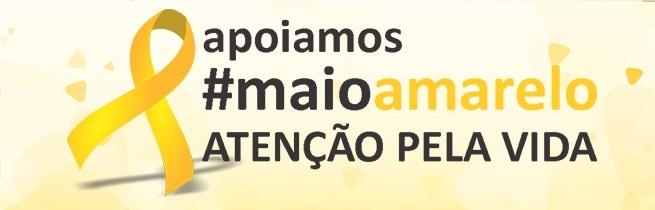 Campanha Maio Amarelo faz ação educativa em semáforos da cidade