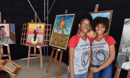 Obras de arte estudantis são apresentadas no Virtual Educa Bahia 2018