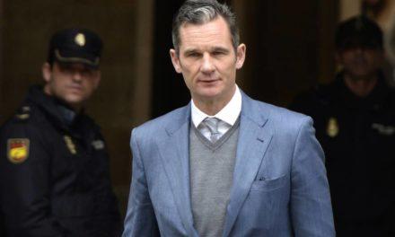 Cunhado do rei Felipe VI começa a cumprir pena de prisão na Espanha