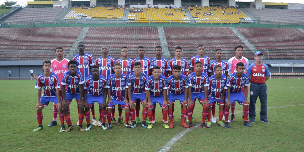 Bahia é bicampeão da Copa Metropolitana sub 15