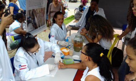 Estudantes de Irecê prestam serviços gratuitos à comunidade