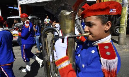 Desfile do 2 de Julho terá participação de 2,6 mil estudantes
