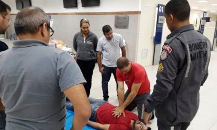 Servidores de postos SAC recebem curso de formação de brigadistas de incêndio