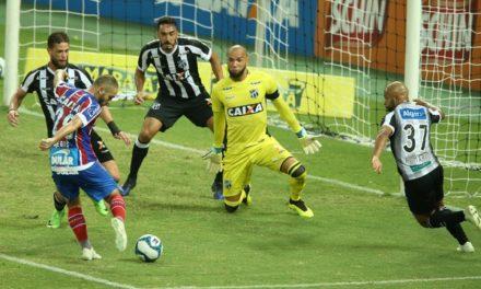 Bahia bate o Ceará no Castelão e abre vantagem nas semifinais da Copa do Nordeste