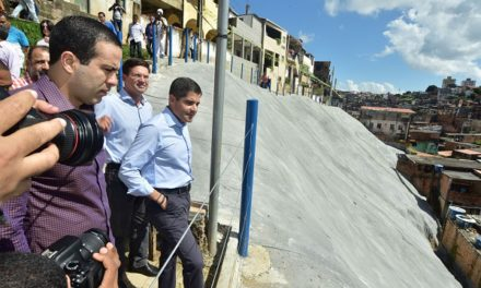 Novas geomantas vão beneficiar cerca de 160 famílias em Cosme de Farias