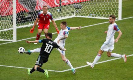 Messi congela, Argentina esbarra em muralha de gelo e tropeça na Islândia