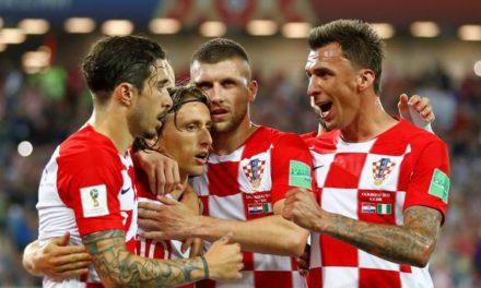 Croácia estreia bem derrotando a Nigéria e larga na frente no Grupo D