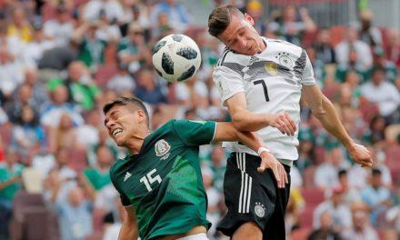 Atual campeã mundial, Alemanha perde de 1 a 0 para o México