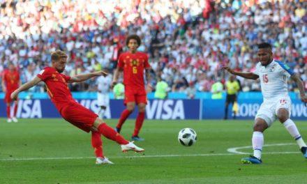 Bélgica sofre no primeiro tempo, mas deslancha no segundo e bate o Panamá