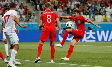 Inglaterra sofre, mas vence a Tunísia na estreia com dois gols de Harry Kane