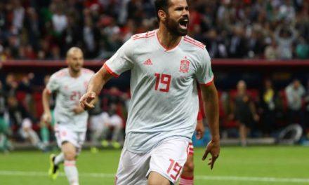 Com domínio espanhol desde o início, Espanha marca com Diego Costa e ganha a primeira na Rússia