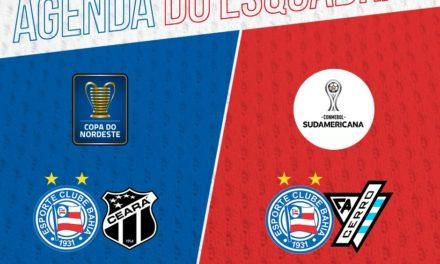 Bahia conhece datas e horários dos próximos jogos pelas