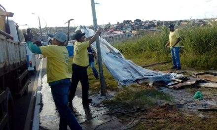 Prefeitura desarma barracas que venderiam fogos em Stella Maris