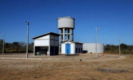 Inauguradas obras de abastecimento em Campo Alegre de Lourdes