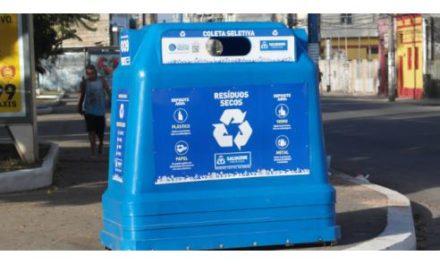 Salvador recolhe 30 toneladas mensais de lixo reciclável