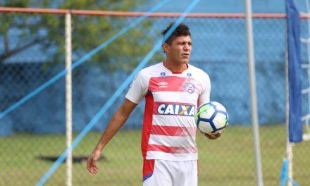 Bahia treina de olho no jogo contra o Grêmio, neste domingo na Fonte