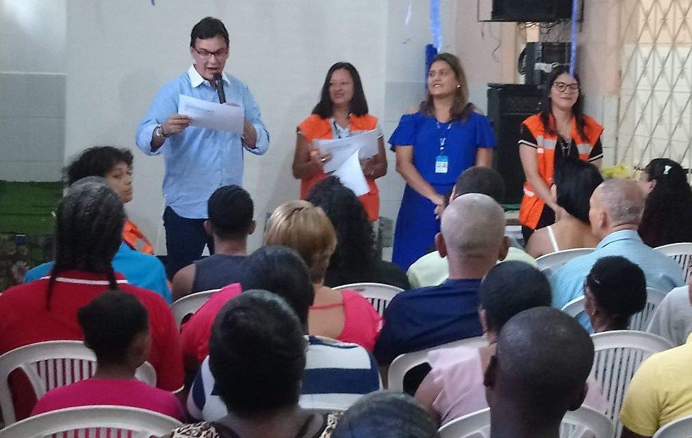 Codesal certifica integrantes de Nupdec em Voluntários da Pátria