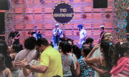 Bandas fazem shows gratuitos no São João Salvador Norte Shopping