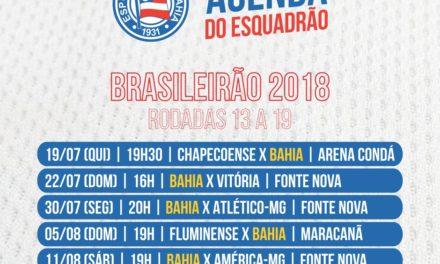 CBF detalha rodadas finais do primeiro turno do Brasileirão