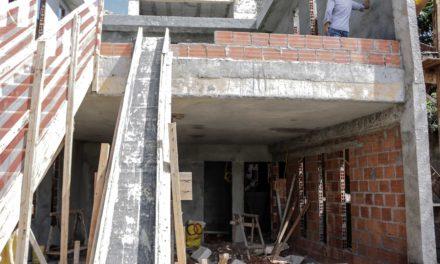 Obras avançam para construção do Centro Comunitário Mãe Carmen do Gantois