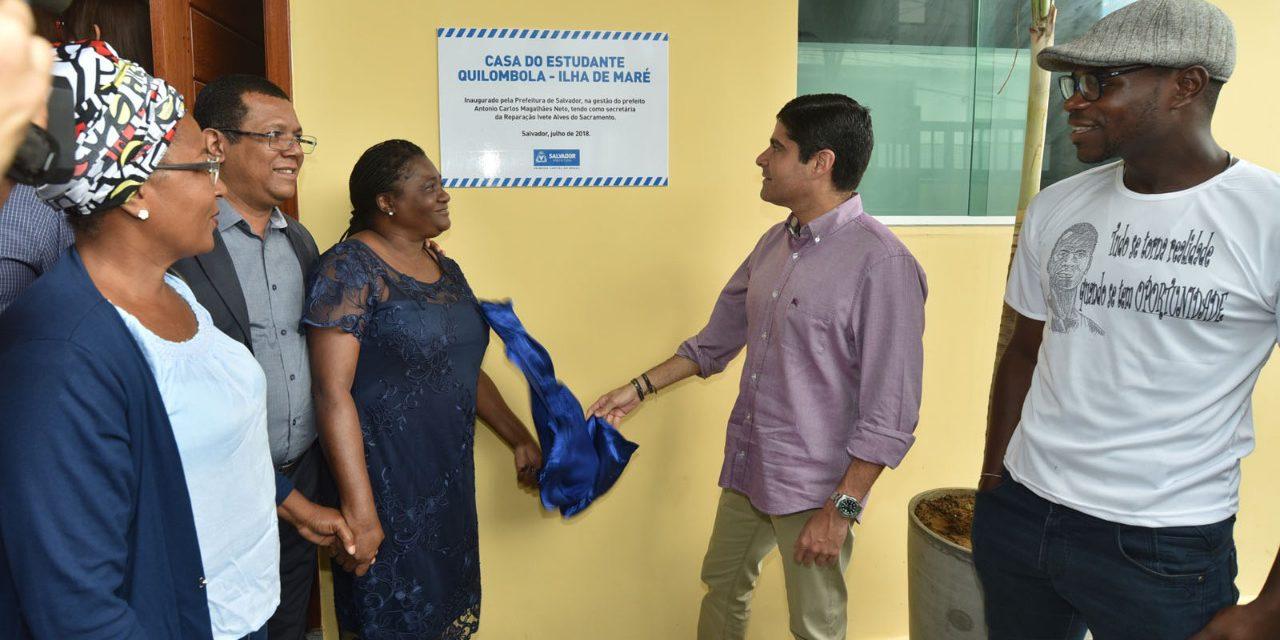 Salvador ganha casa de estudantes quilombolas inédita no Brasil