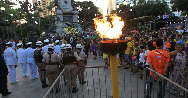 Homenagem da Marinha e Desfile Cívico marcam 2 de Julho no Campo Grande